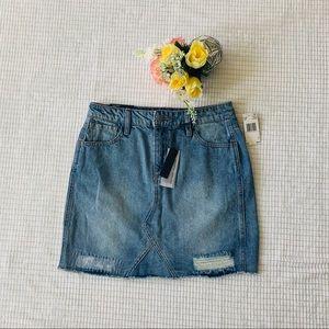 🆕Buffalo Denim Mini Skirt